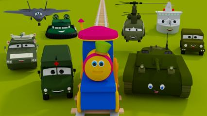 Bob The Train | Bob The Train On A Color Ride | Learn Colors For Kids And Childrens