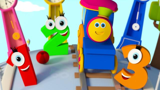 Bob The Train | Learn Numbers | Counting Numbers Son...
