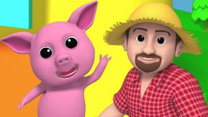promocional vídeo | rimas | 3D Cartoons para crianças | Nursery Rhymes | Promo Video | Luke & Lilly