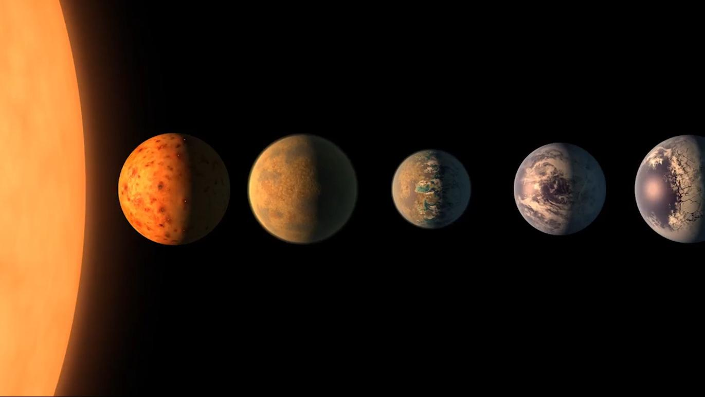 "NASA found 7 ""Earthlike"" planets"