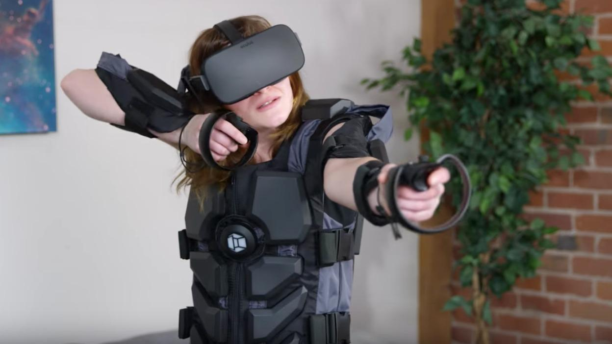 Hardlight VR Suit adds vibration for more realistic gameplay