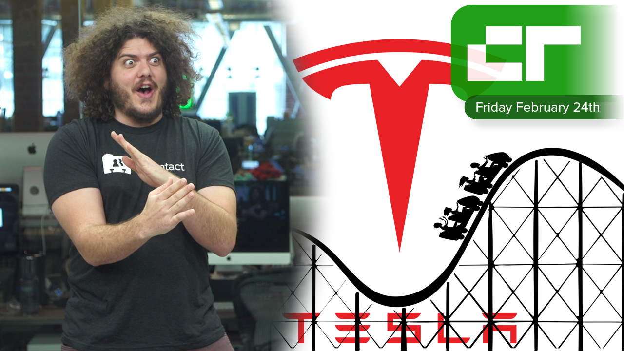 Tesla and Rollercoasters | Crunch Report