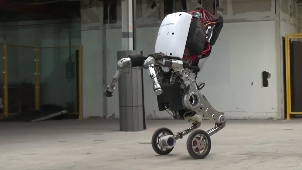 Boston Dynamics' Handle Robot