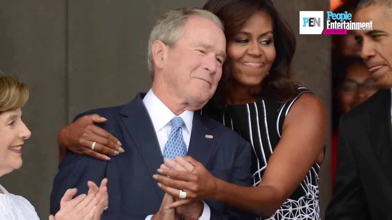 George W. Bush on relationship with Michelle Obama: 'We ...