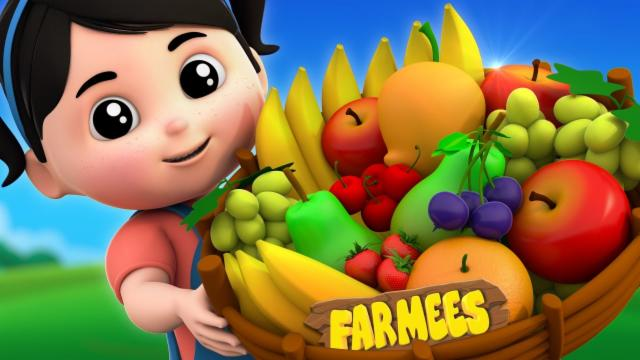 Fruits Song | Learn Fruits | Nursery Rhymes Farmees ...
