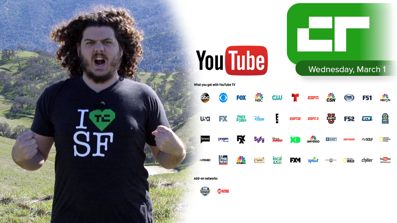 YouTube TV Is Live | Crunch Report