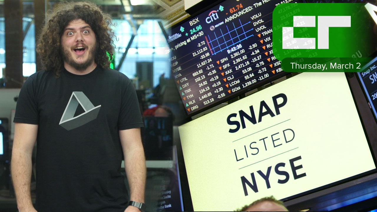 Snap Inc. Makes its Debut | Crunch Report