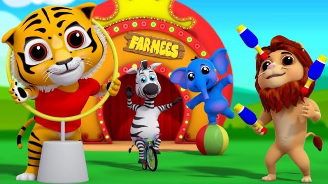 Eeny Meeny Miny Moe | Nursery Rhymes Farmees | Kids ...