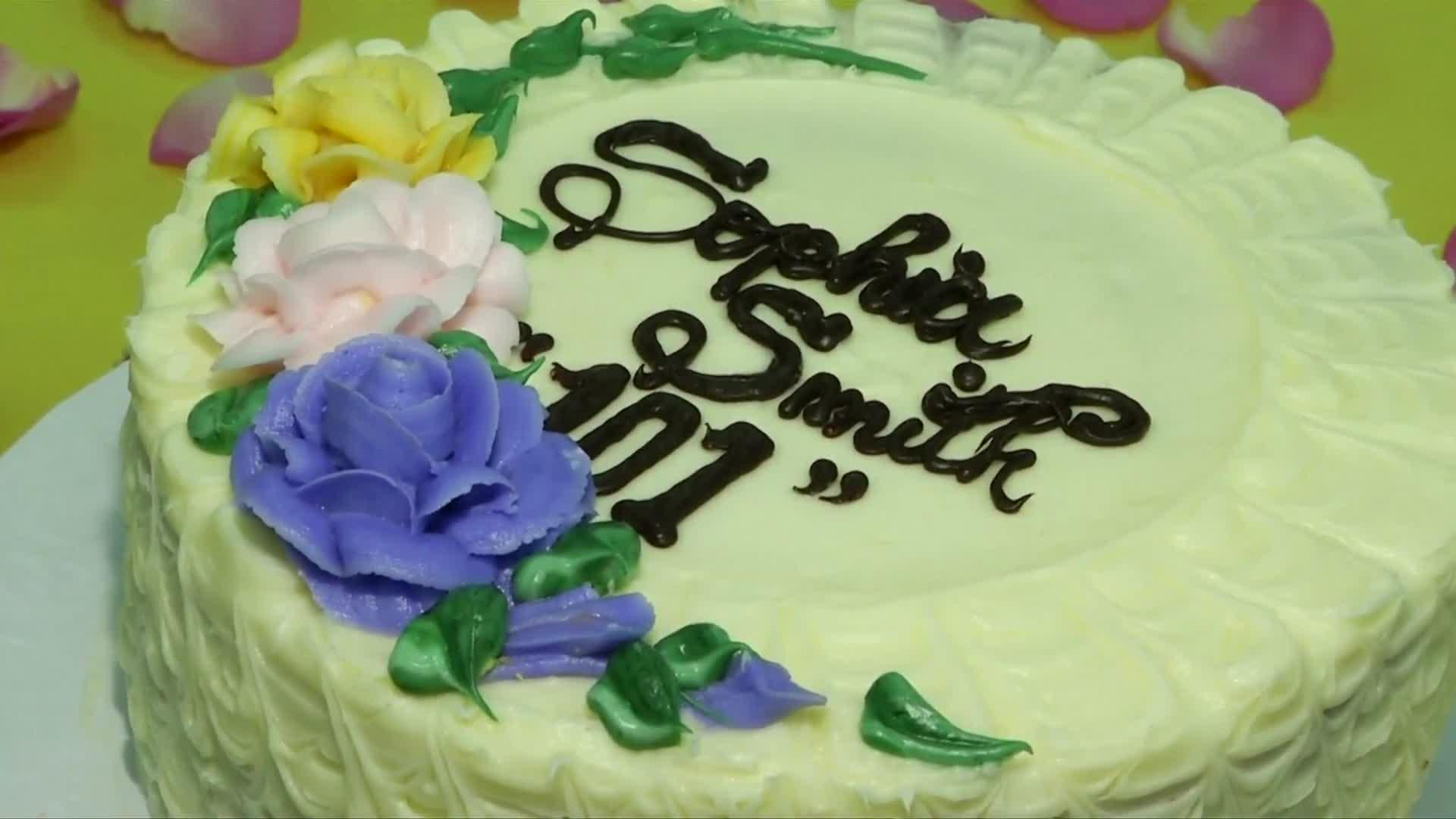Sophia Smith Birthday Cake