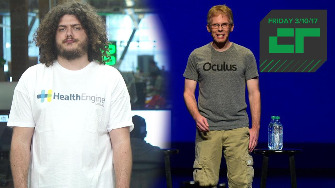 Oculus CTO Is Suing ZeniMax | Crunch Report