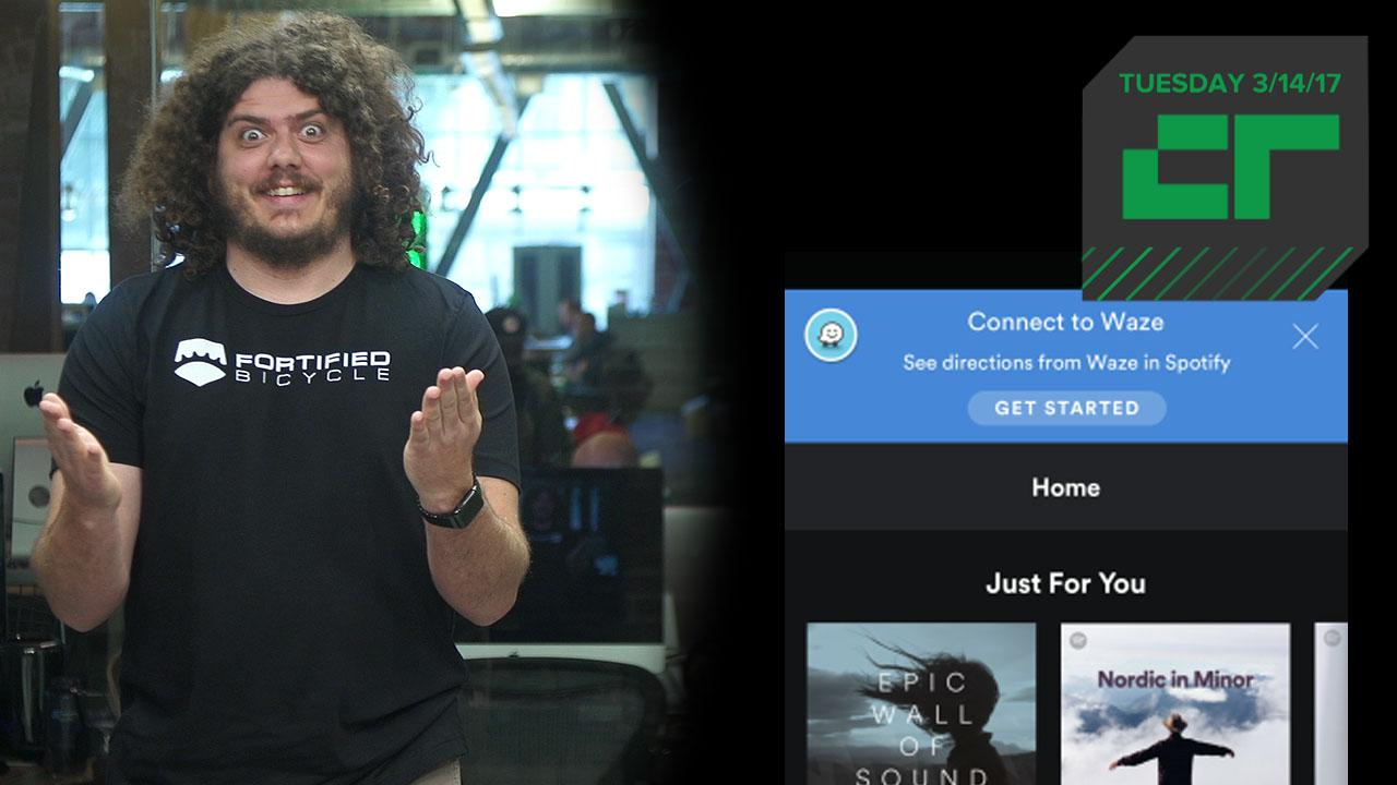 Waze and Spotify Partner Up | Crunch Report