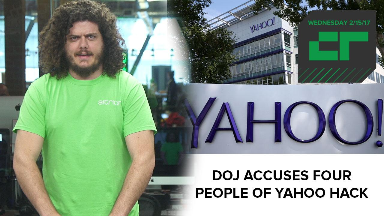 DOJ Accuses Four People of 2014 Yahoo Hack | Crunch Report