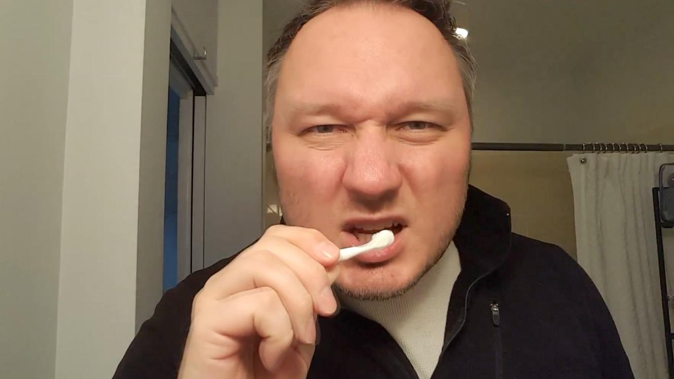 Doug puts disposable toothbrushes to the test