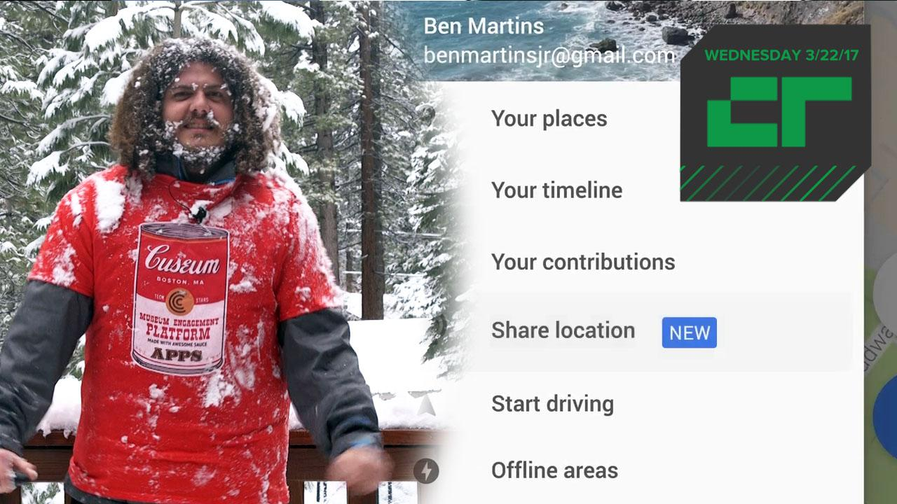 Google Maps Launches Location Sharing with Others | Crunch Report