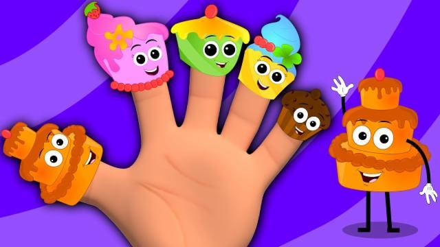 Cake Finger Family | Nursery Rhymes | Cake Song | Ba...