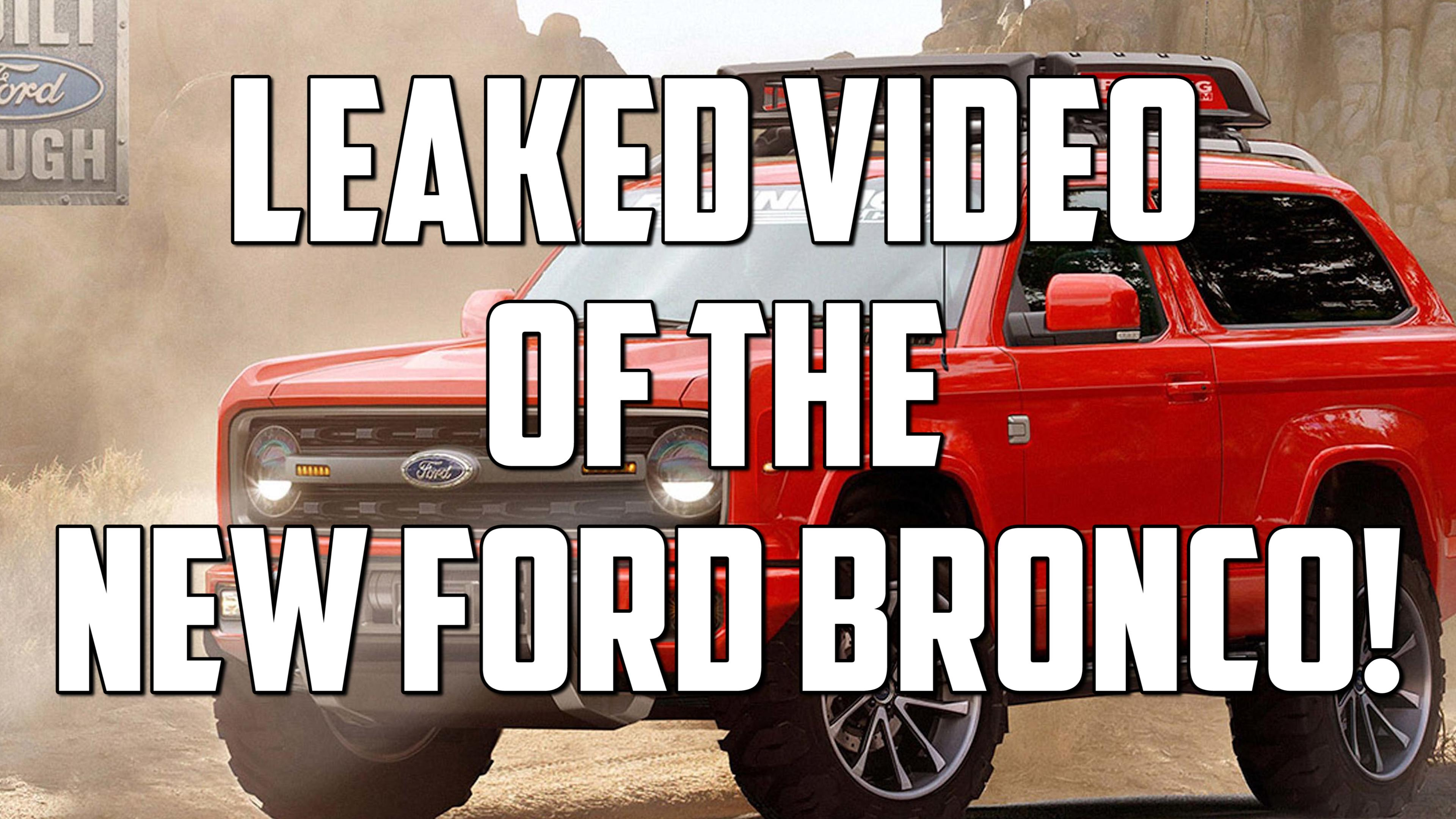 First look at the 2020 Ford Bronco has us excited | Autoblog