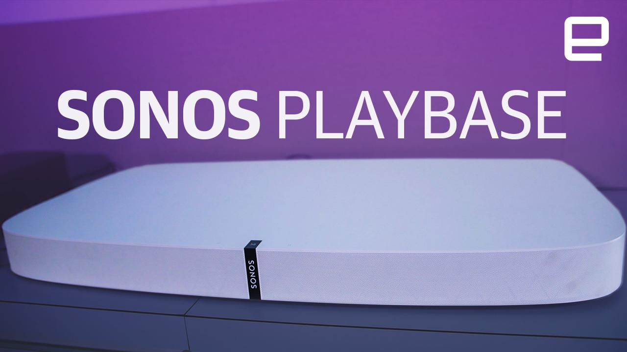 Sonos Playbase Review The Only Speaker Your Living Room Needs
