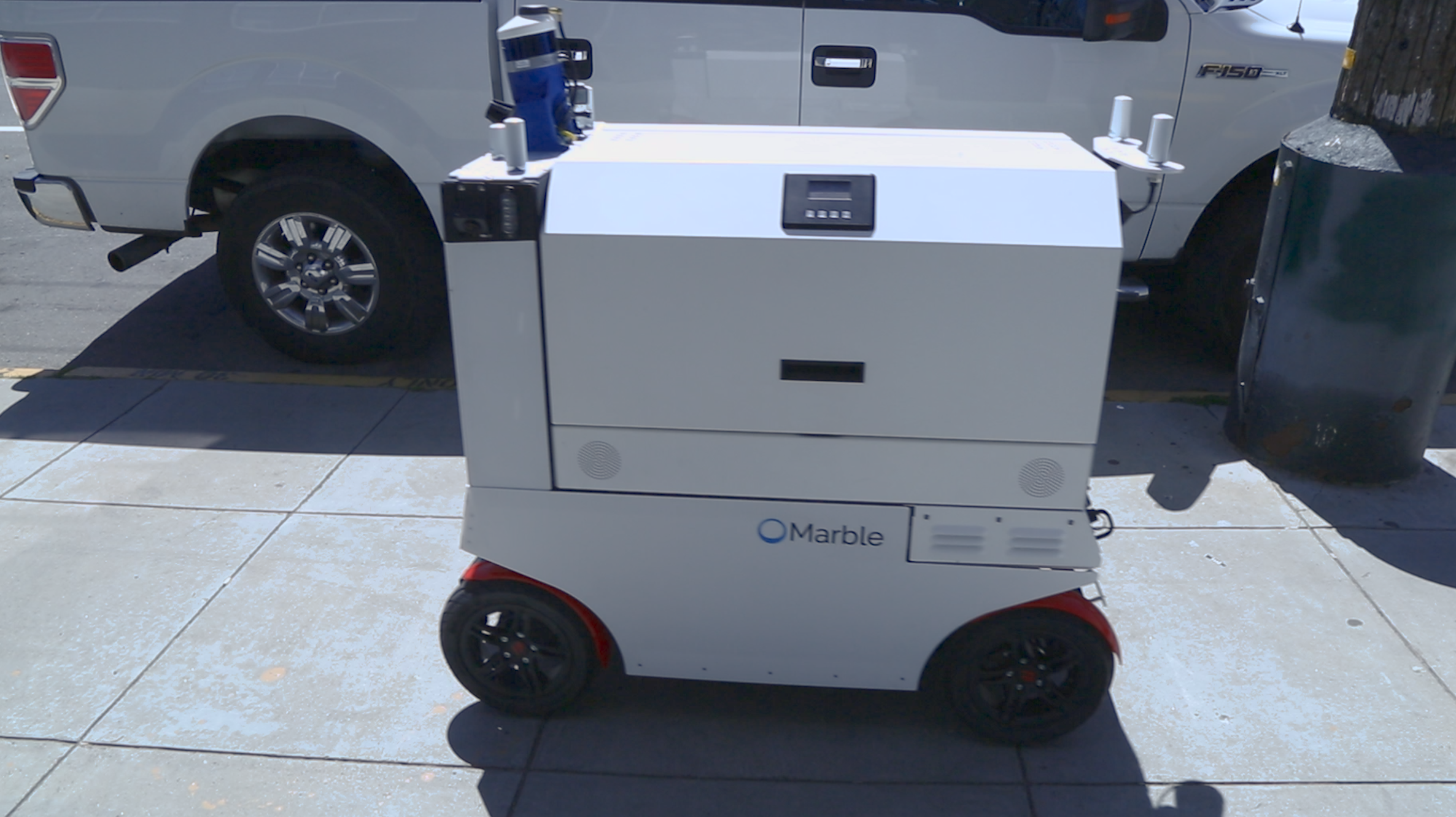 Marble delivery robot