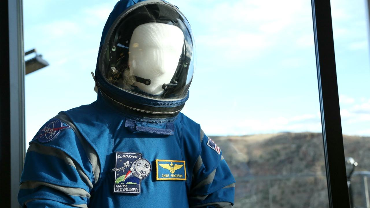 Boeing's new spacesuit up close