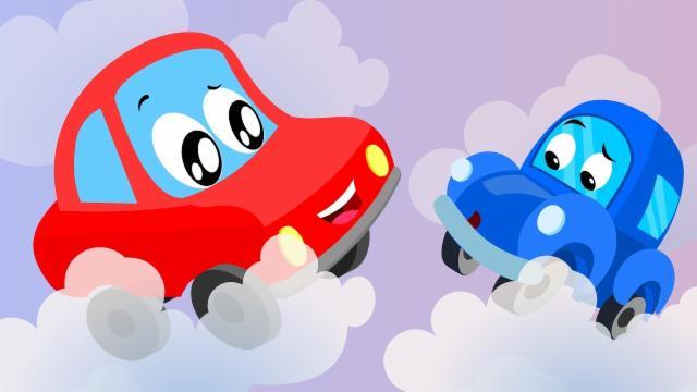 Little Red Car | Rig A Jig Jig | Nursery Rhymes Song...