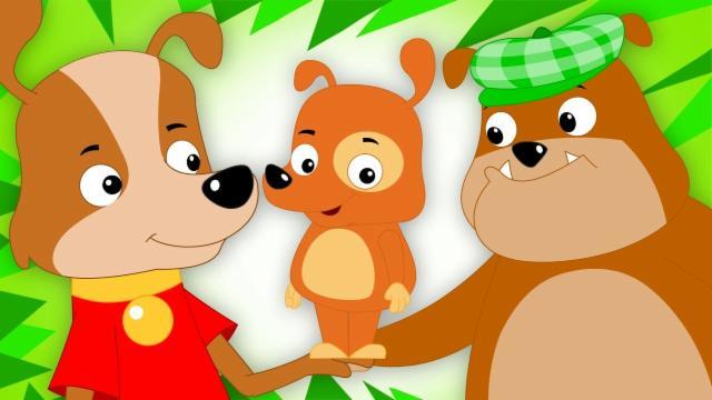 Woof Woof Dog | Original Nursery Rhymes | Songs For ...