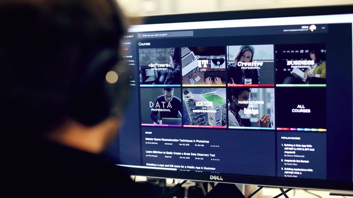 Pluralsight schools developers online