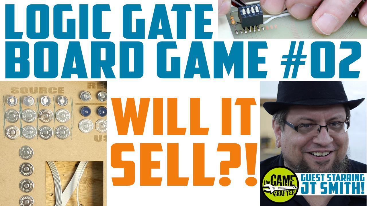 Ben Heck's logic gate board game: Fun with LCD displays