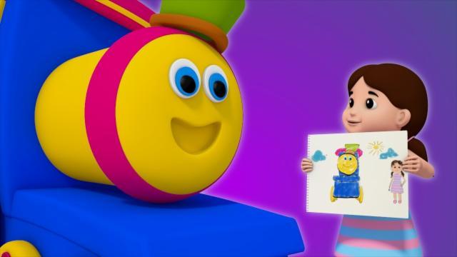 Bob The Train | Little Things We Love | Nursery Rhym...