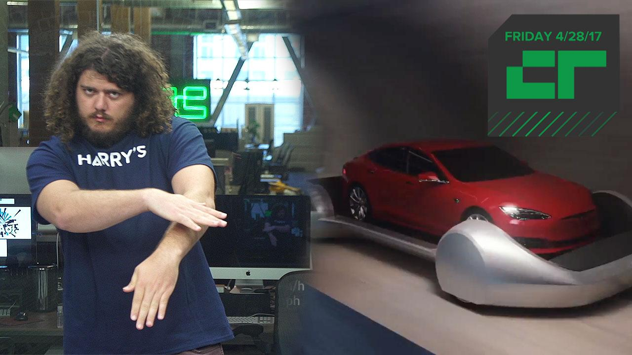 Elon Musk's Tunnel Vision Gets Rendered | Crunch Report