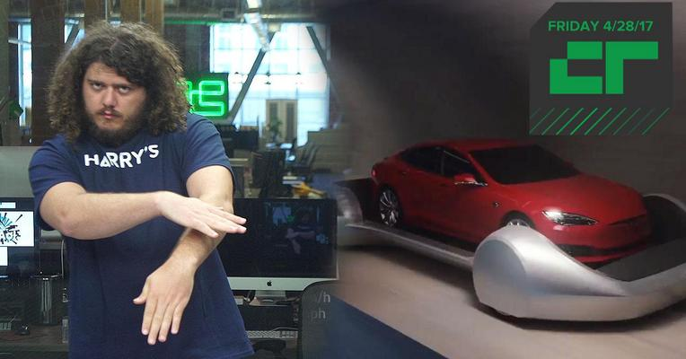 Crunch Report | Elon Musk's Tunnel Vision Gets Rendered