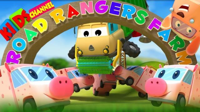 Road Rangers had a farm | nursery rhyme | old MacDon...