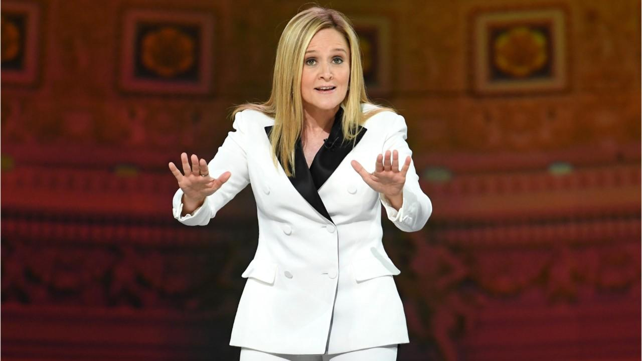 Samantha Bee rips Trump's first 100 days: 'You're basically the presidential Fyre Festival'