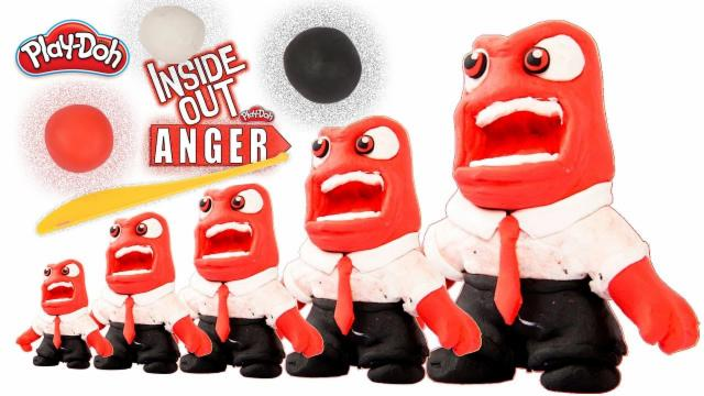 Play Doh Inside Out | Play Doh Anger | Kids Play Doh...