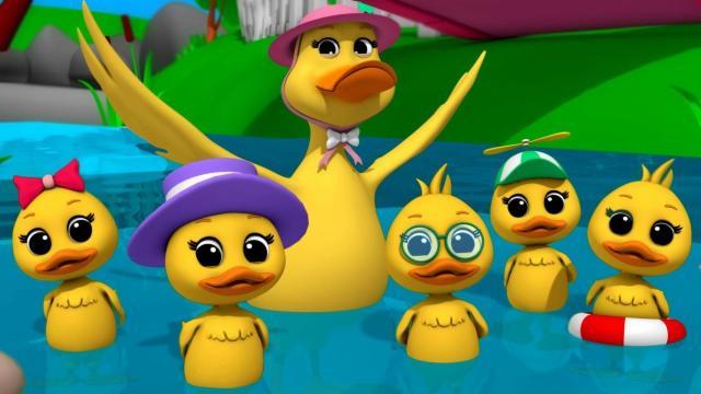 Five Little Ducks | Childrens Song | Music For Kids ...