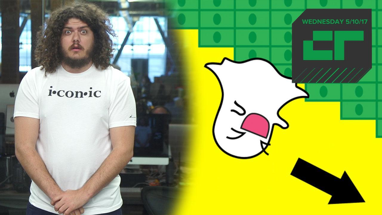 Snap Trips and Falls on Wall Street | Crunch Report