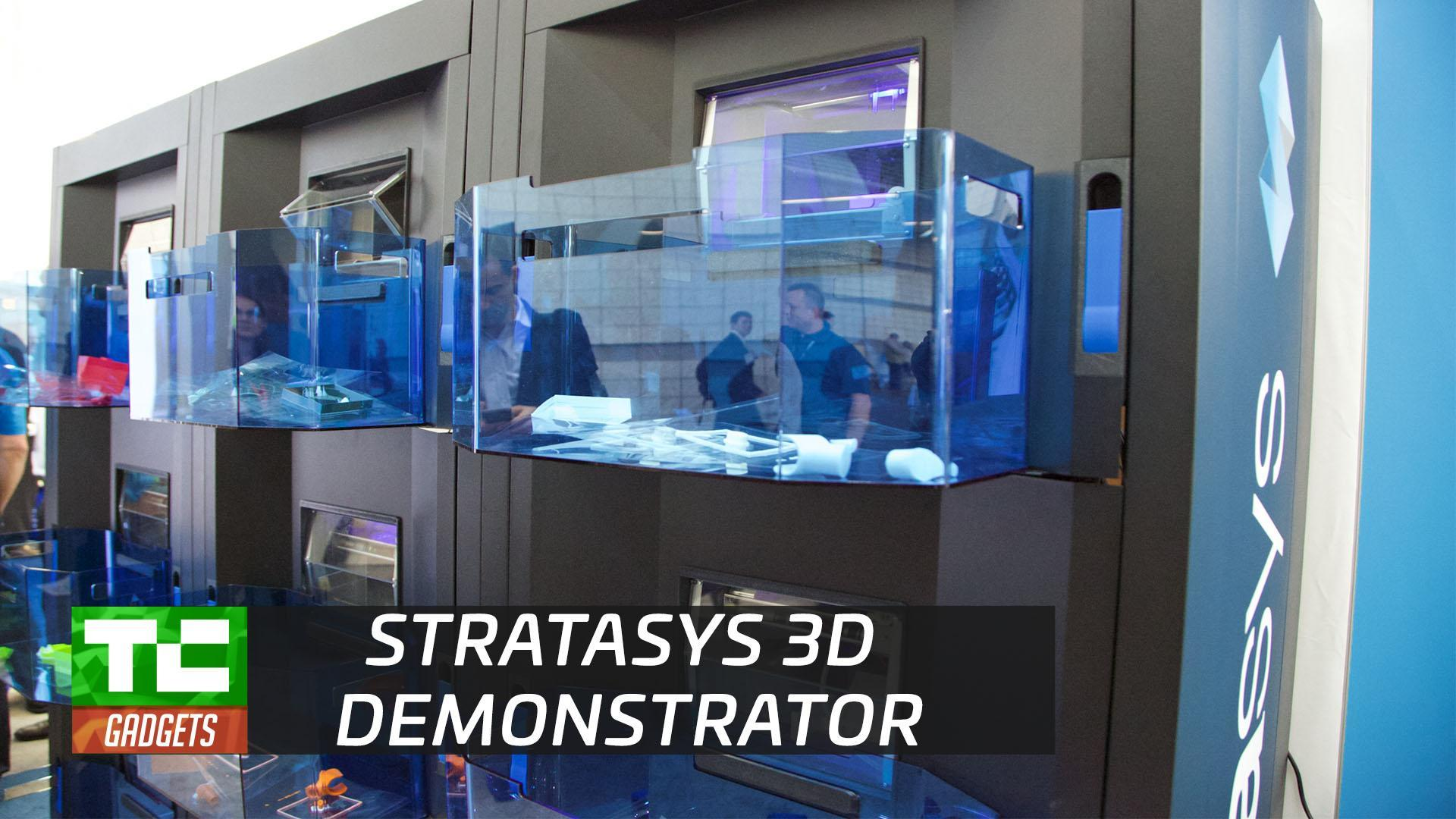 Stratasys' Continuous Build 3D Demonstrator