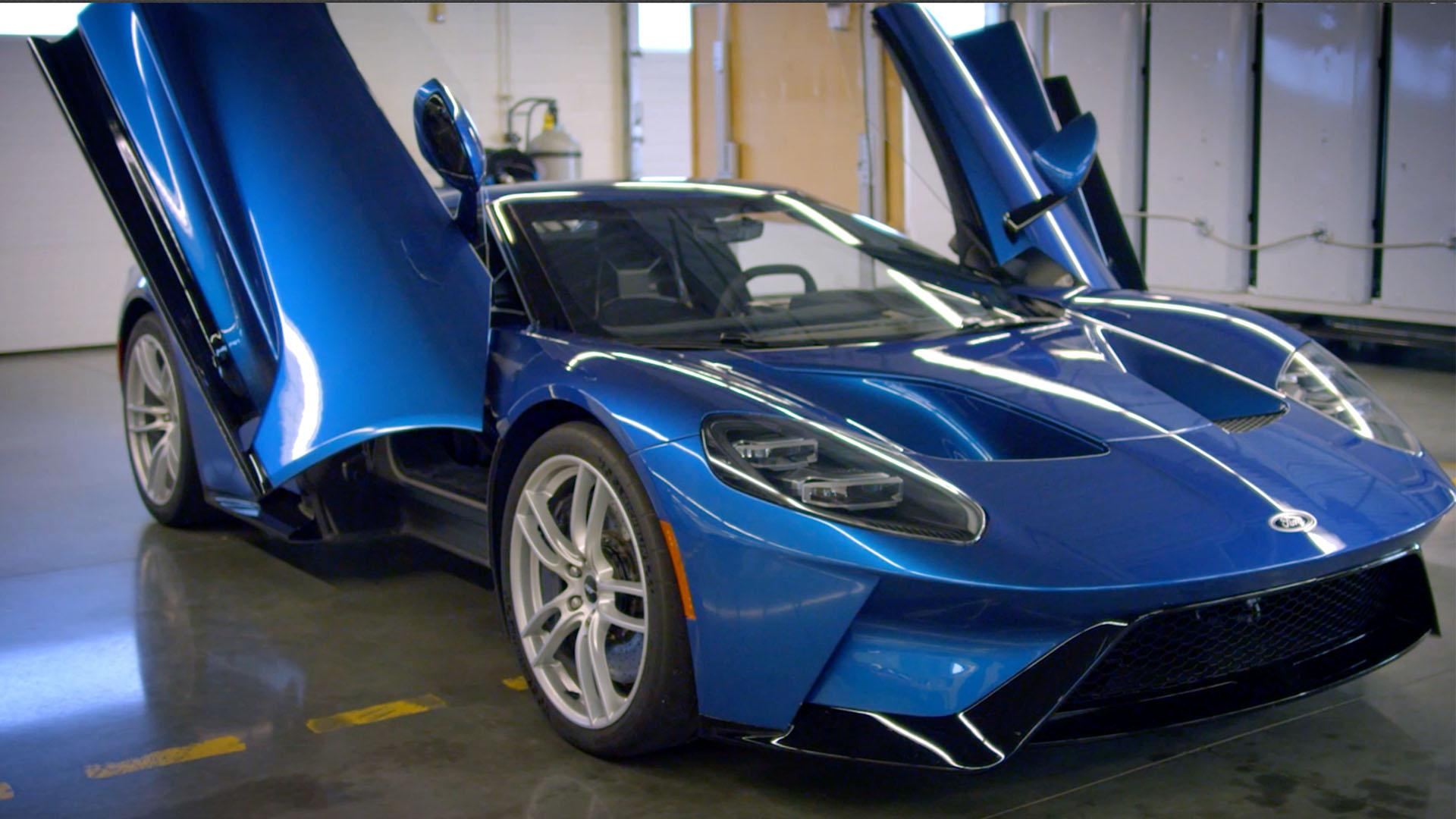 Driving Ford's GT supercar