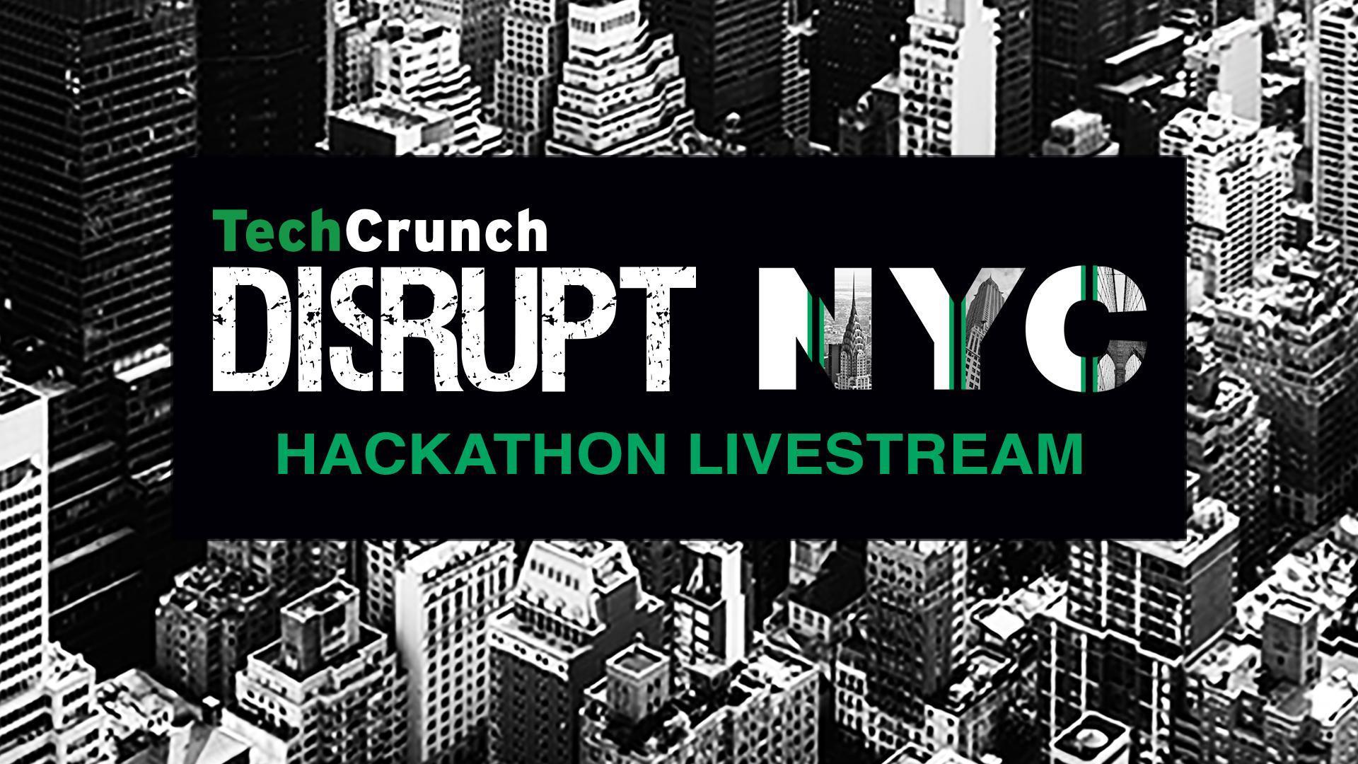 Disrupt NY 2017 Hackathon