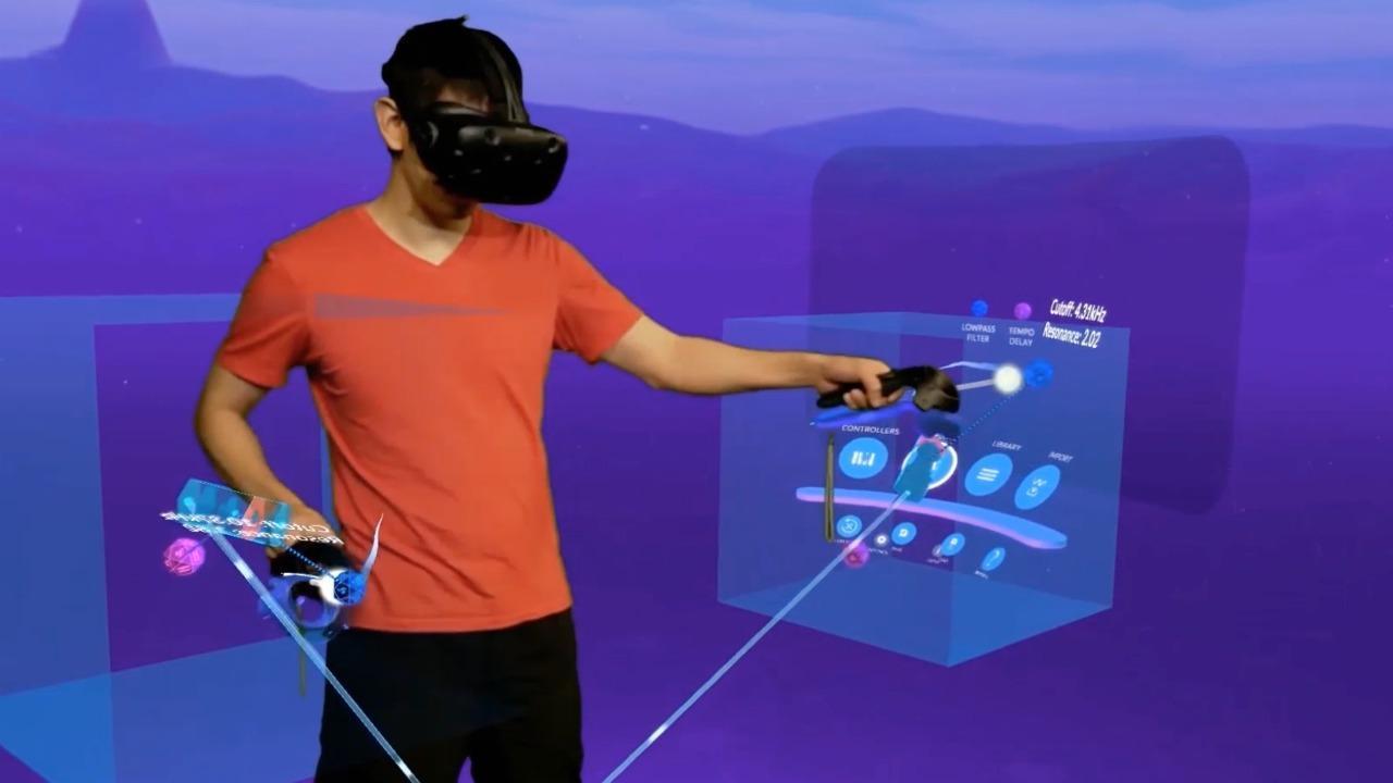 Make music in VR with Lyravr