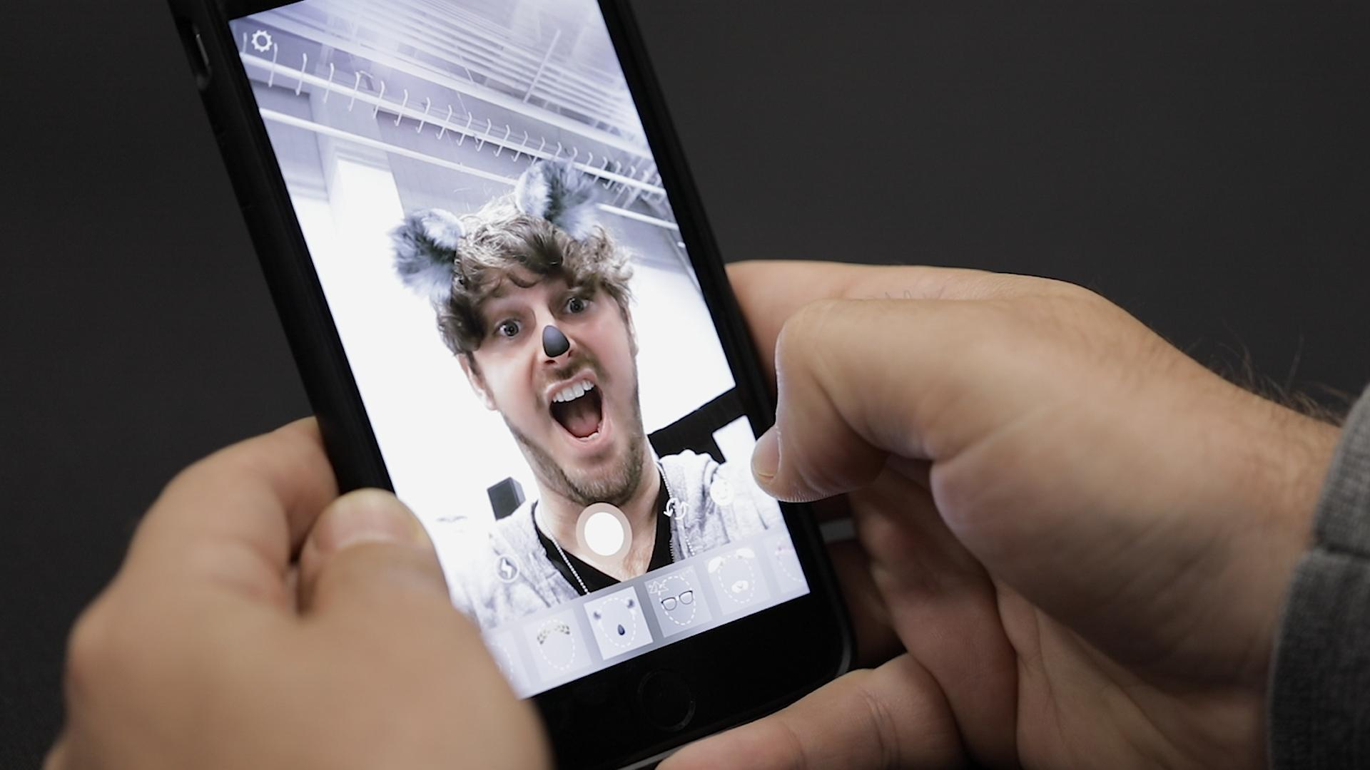 Instagram launches Snapchat-style Selfie Filters