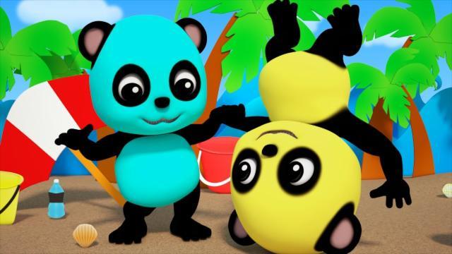 Baby Bao Panda | Head Shoulder Knees And Toes | Nurs...
