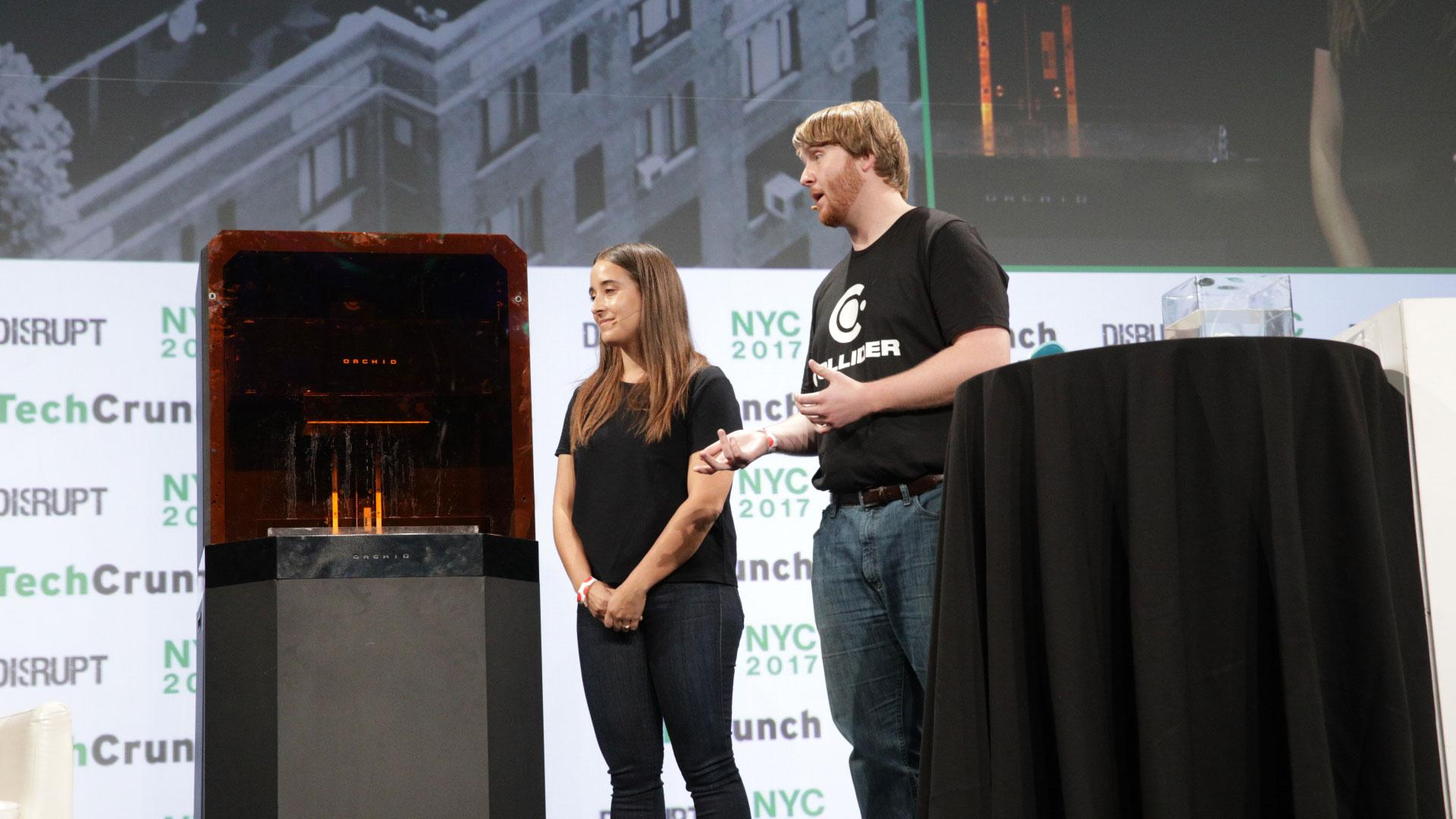 Disrupt NY 2017 Startup Battlefield Finals: Collider