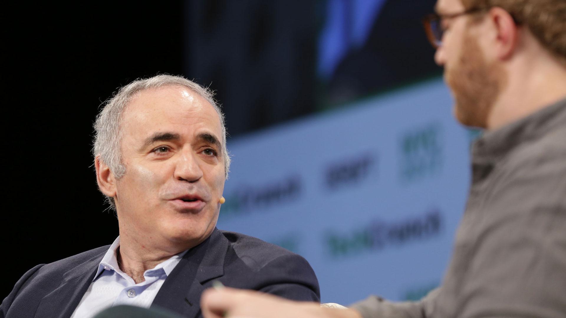 Garry Kasparov : What Constitutes Intelligence