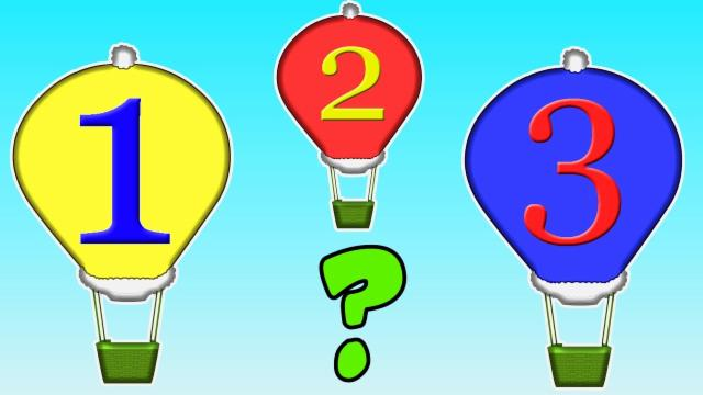 Patterns | number song | hot air balloons |  Learnin...