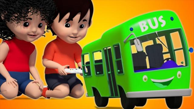 Bob The Train | Wheels On The Bus Go Round And Round...