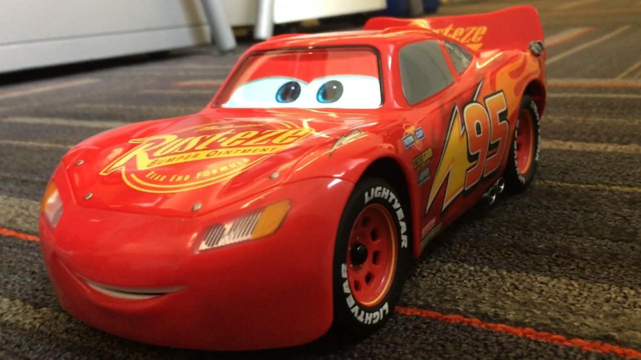 Sphero's Ultimate Lightning McQueen demo