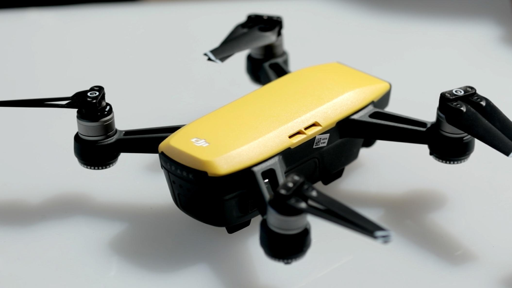 DJI unveils tiny new Spark drone