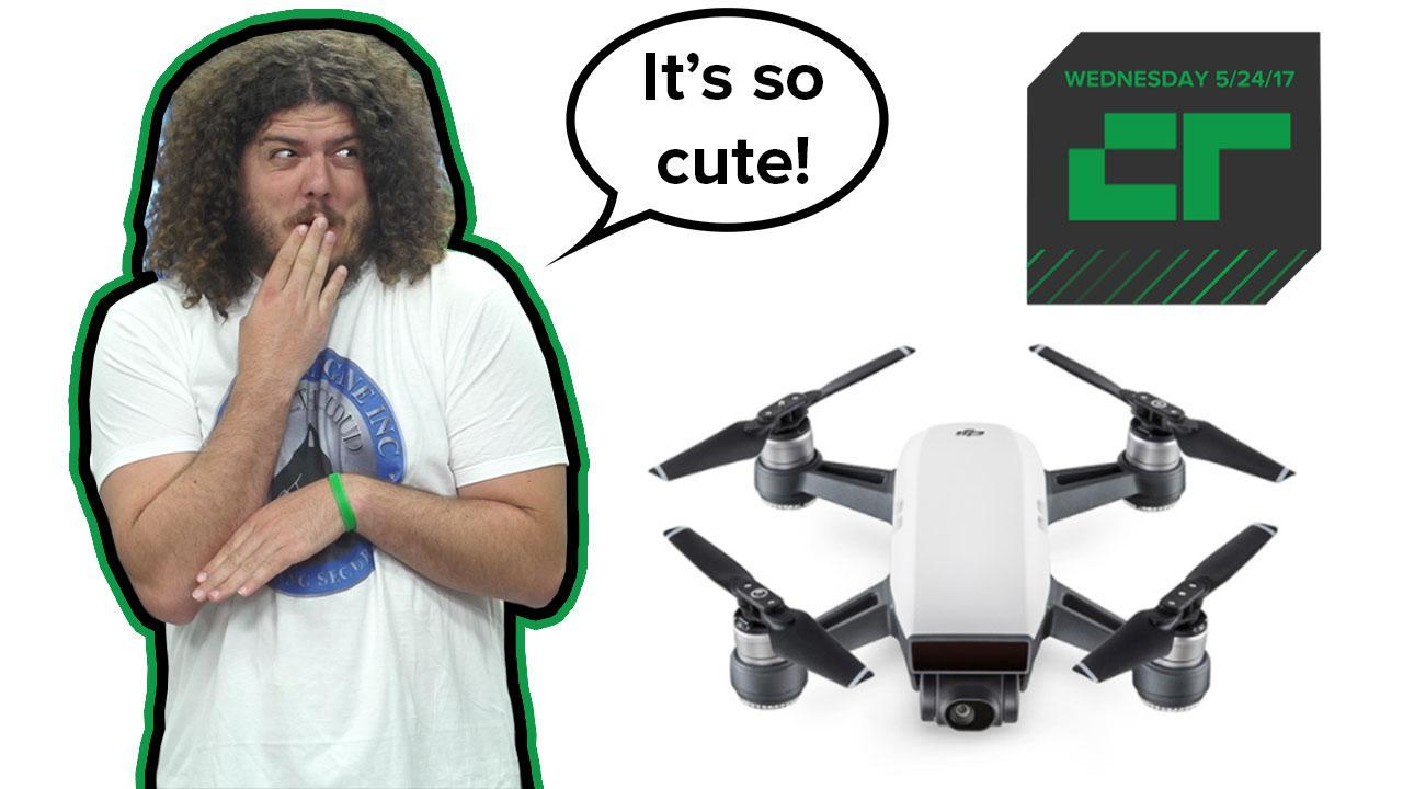DJI's Cute $499 Spark Drone | Crunch Report