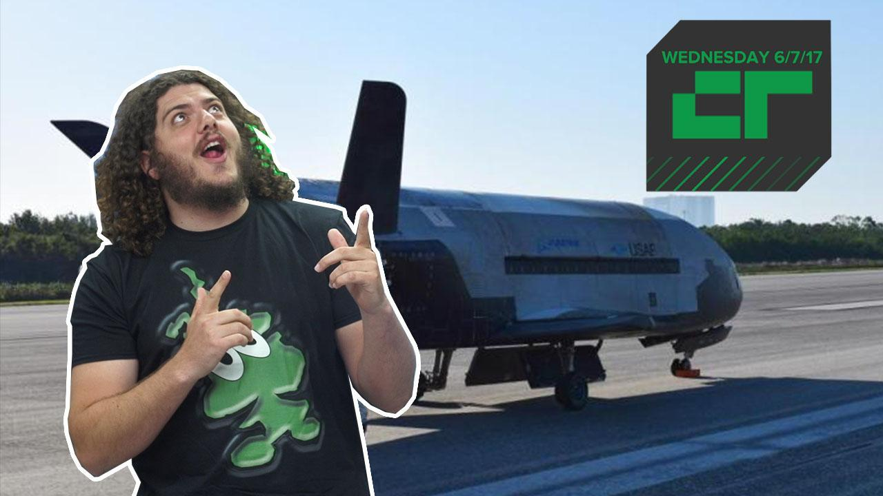 SpaceX Launching Secret Spaceplane | Crunch Report