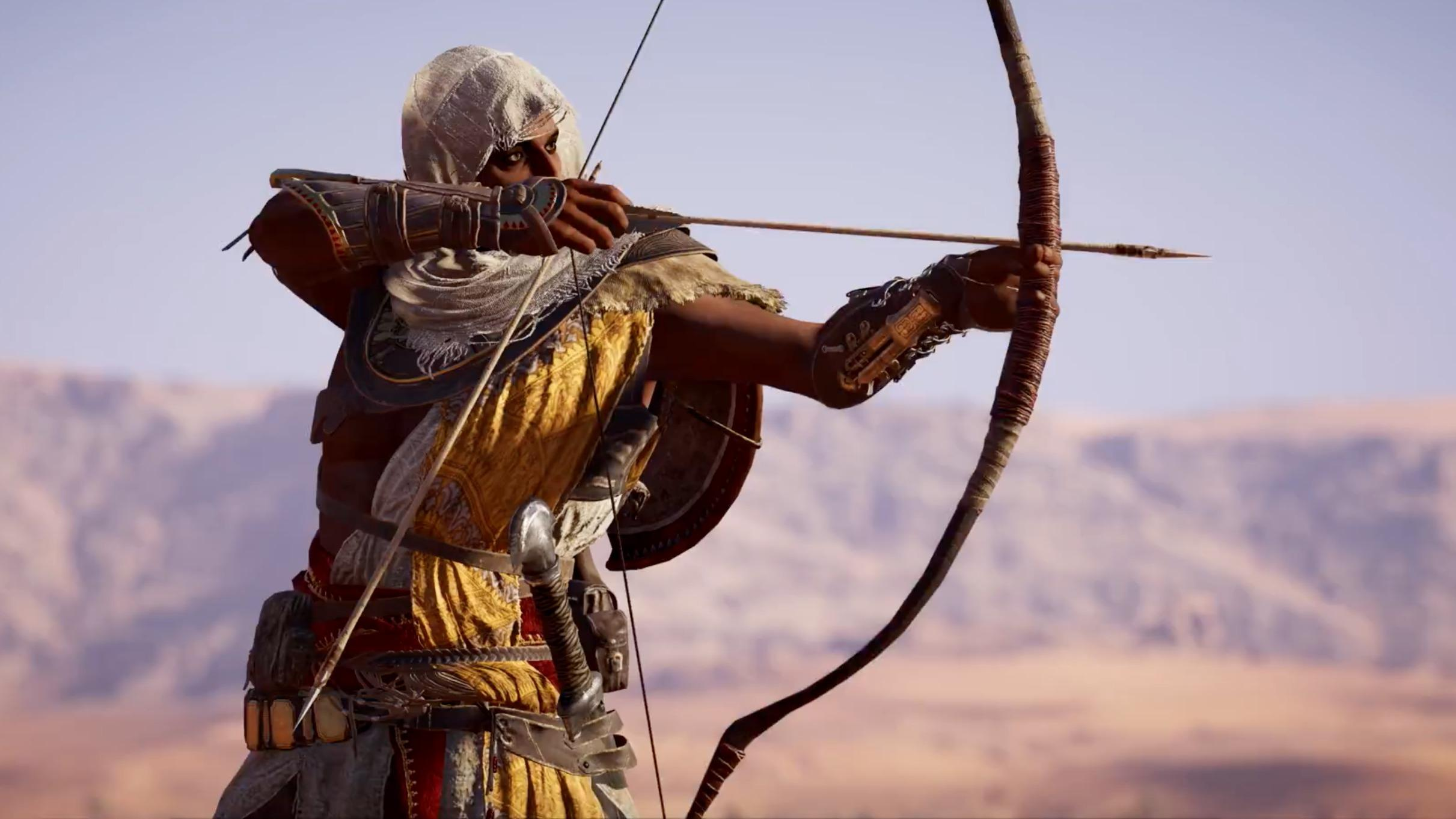 Assassin's Creed Origins first look on Xbox One X